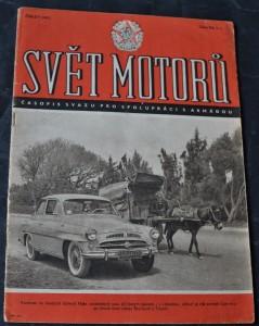 náhled knihy - Svět motorů 1957, č. 1