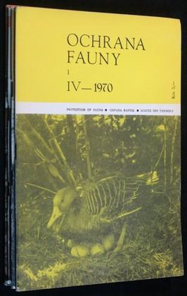 náhled knihy - Ochrana fauny 1970 4sv 1, 2, 3 a 4