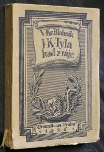 náhled knihy - J.K. Tyla had z ráje : život - Divadlo