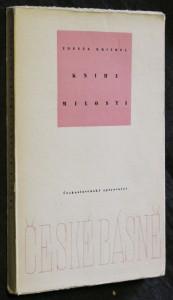 náhled knihy - Kniha milosti : Verše 1950-1955