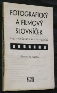 náhled knihy - Fotografický a filmový slovníček anglicko-český a česko-anglický