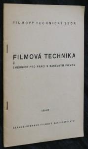 náhled knihy - Filmová technika 2. Směrnice pro práci s barevným filmem