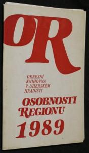 náhled knihy - Osobnosti regionu 1989