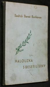 náhled knihy - Halouzka s deseti lístky