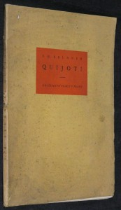 náhled knihy - Quijoti : 26 kreseb