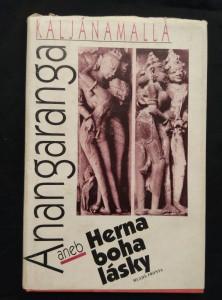 náhled knihy - Anangaranga aneb Herna boha lásky (Ocpl, 112 s., il. B. Vašák)