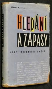 náhled knihy - Hledání a zápasy : cesty moderního umění