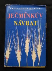 náhled knihy - Ječmínkův návrat (Ocpl., 343 s.)