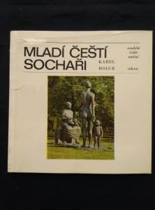 náhled knihy - Mladí čeští sochaři (kart, 72 s., čb a bar foto)