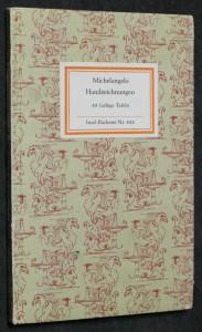 náhled knihy - Michelangelo Handzeichnungen, 48 farbige tafeln