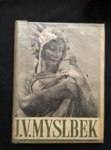 náhled knihy - J. V.Myslbek (A4, Oppl, 126 s. textu, 200 s obr příl.)