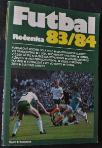 náhled knihy - Futbal: Ročenka 83/84