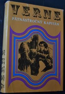 náhled knihy - Pätnásťročný kapitán