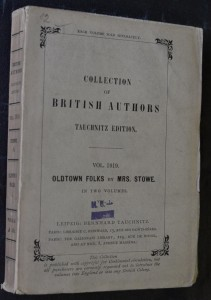náhled knihy - Collection of British Authors : Oldtown Folks
