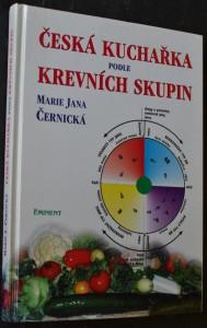 náhled knihy - Česká kuchařka podle krevních skupin