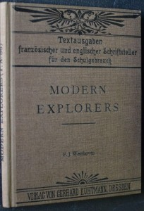 náhled knihy - Modern Explorers