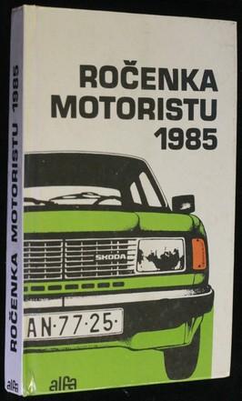 náhled knihy - Ročenka motoristu 1985