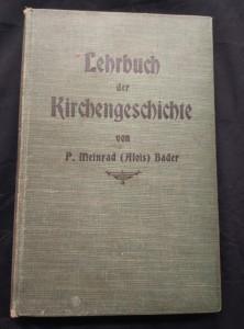 náhled knihy - Lehrbuch der Kirchengeschichte (Ocpl, 328 s., 2 mapen)