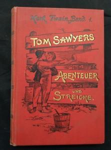 náhled knihy - Tom Sawyers Abenteuer und Streiche (Ocpl, 284 s.)