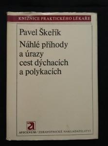 náhled knihy - Náhlé příhody a úrazy cest dýchacích a polykacích (Ocpl, 240 s., 60 vyobr.)