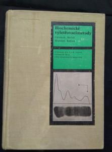 náhled knihy - Biochemické vyšetřovací metody - učebnice pro 3 a 4 roč SŠ obor zdravotní laborant (Ocpl, 232 s, 2 příl)