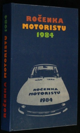 náhled knihy - Ročenka motoristu 1984