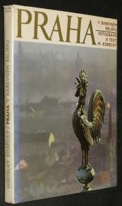 náhled knihy - Praha v barevném reliéfu