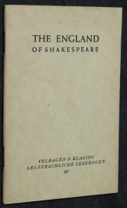 náhled knihy - The England of Shakespeare