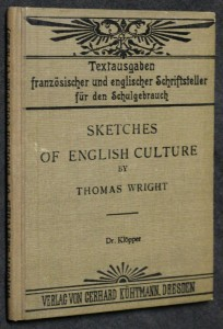 náhled knihy - Sketches of english culture