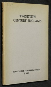náhled knihy - Twentieth century of England