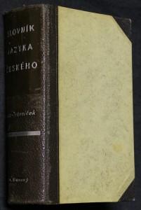 náhled knihy - Slovník jazyka českého