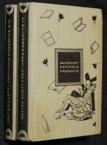 náhled knihy - Perthská krasavice. 1.-4. díl ve dvou svazcích