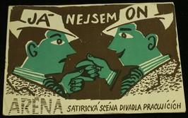náhled knihy - Aréna (satirická scéna divadla pracujících): Já nejsem on