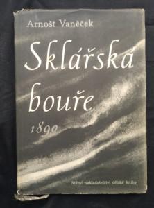 náhled knihy - Sklářská bouře 1890 (Oppl, 132 s., il. J. Istler)