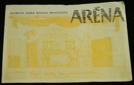 náhled knihy - Aréna (satirická scéna divadla pracujících): Čtyři svatby na jednom pohřbu