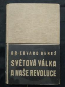 náhled knihy - Světová válka a naše revoluce I.