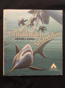 náhled knihy - V hlubinách Atlantiku (A4, Obr, 120 s., ob a il. J. Petráček)