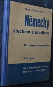 náhled knihy - Německy sluchem a studiem pro školu a samouky