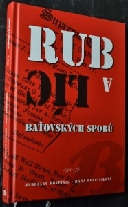 náhled knihy - Rub a líc baťovských sporů