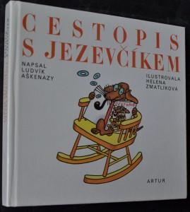 náhled knihy - Cestopis s jezevčíkem