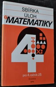 náhled knihy - Sbírka úloh z matematiky pro čtvrtý ročník ZŠ : pomocná kniha