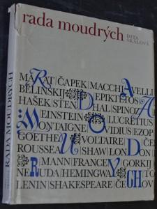 náhled knihy - Rada moudrých : Záznam besed, které se nikdy nekonaly : Rozhlasová pásma z myšlenek velikánů lidského rodu 1964-1967