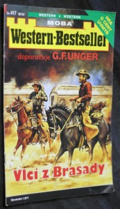 náhled knihy - Western-Bestseller. Vlci z Brasady