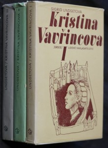 náhled knihy - Kristina Vavřincova. 1.Věnec 2. Paní, 3. Kříž