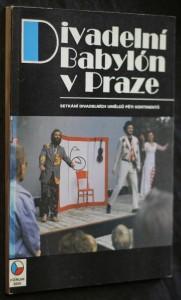 náhled knihy - Divadelní Babylón v Praze. Setkání divadelních umělců pěti kontinentů