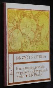 náhled knihy - Jak začít s citrusy