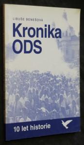náhled knihy - Kronika ODS : 10 let historie
