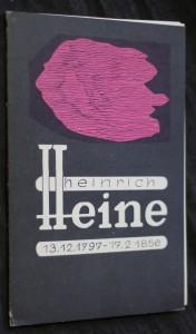 náhled knihy - Heinrich Heine 13.12. 1797-17.2. 1856