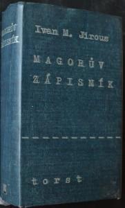 náhled knihy - Magorův zápisník