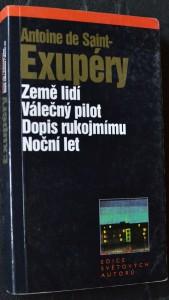náhled knihy - Noční let ; Země lidí ; Válečný pilot ; Dopis rukojmímu